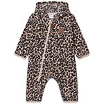 Kuling Northpole Recycled Fleece Coverall Leopard