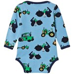 Småfolk Body Ls Old Tractor Sky Blue