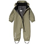 Isbjörn Of Sweden Toddler Hard Shell Jumpsuit Moss
