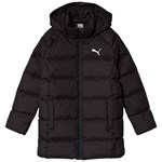 Puma Black Long Down Jacket