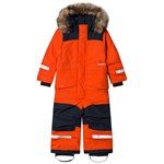 Didriksons Björnen 4 Coverall Poppy Red