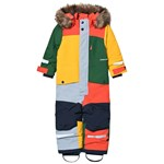 Didriksons Björnen Multi Kids Coverall Multicolour