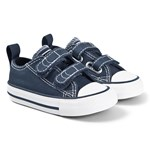 Converse Chuck Taylor All Star OX Infants Velcro Sneakerser Marineblåe
