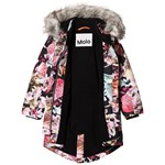 Molo Peace Faux Fur Jakke Bouquet