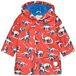 Hatley Red Dinos Colour Changing Raincoat