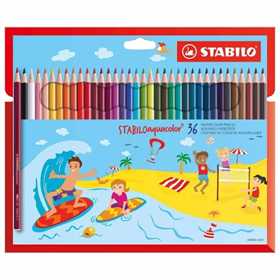 STABILO Aquacolor 36-pack