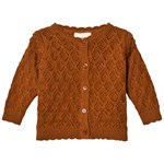 EnFant Ruffle Jakke Leather Brown