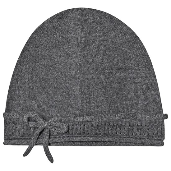 Wheat Beanie Marisa Dark Melange Grey