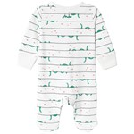 Joules Loch Ness Monster Babygrow Body Hvit