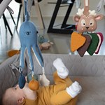 Filibabba Otto The Octopus - Touch & Play, Muddly Blue