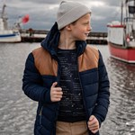 ebbe Kids Balthazar Quilted Parkas Dark Navy