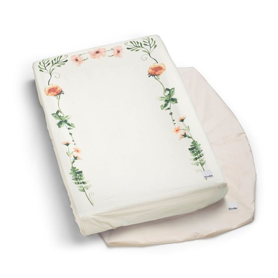 Elodie Changing Pad Covers Meadow Flower