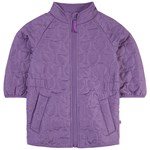 Småfolk Thermo Jacket Girl Apple Purple Heart