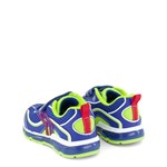 Geox Royal and Lime Android Boy Velcro Light Up Trainers