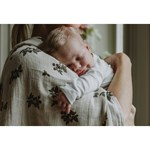 garbo&friends Blackberry Muslin Swaddle Blanket