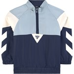Hummel Blue Colourblock HalfZip Jacket