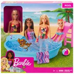 Barbie Barbie Pool Leke Sett