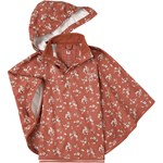 Celavi Floral Rain Cape Redwood